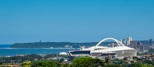 View of Moses Mabhida Stadium