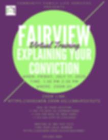 Fairview Explaining Conviction Flyer - J