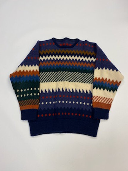 Men's Sweater ZigZag Design