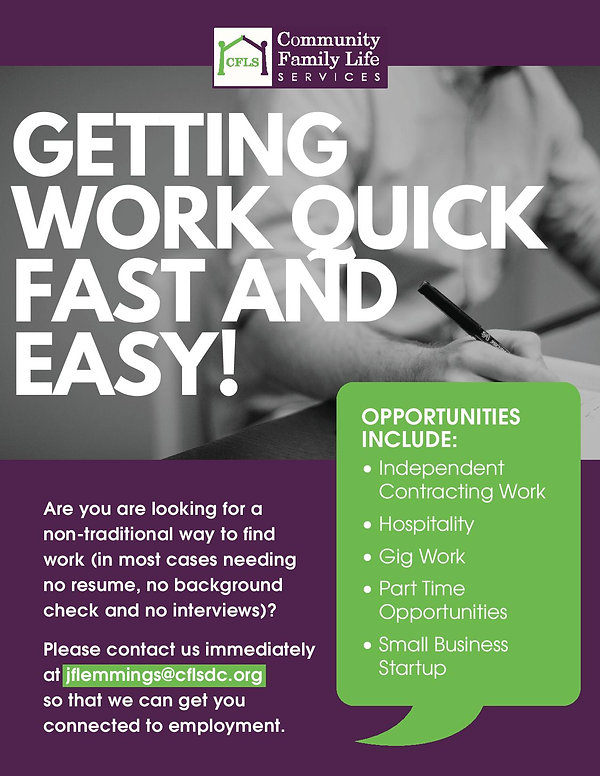 Employment Entrepreneur Program Flyer-pa