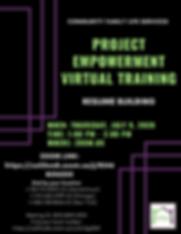 PEVT Resume Building Flyer - July 9.png