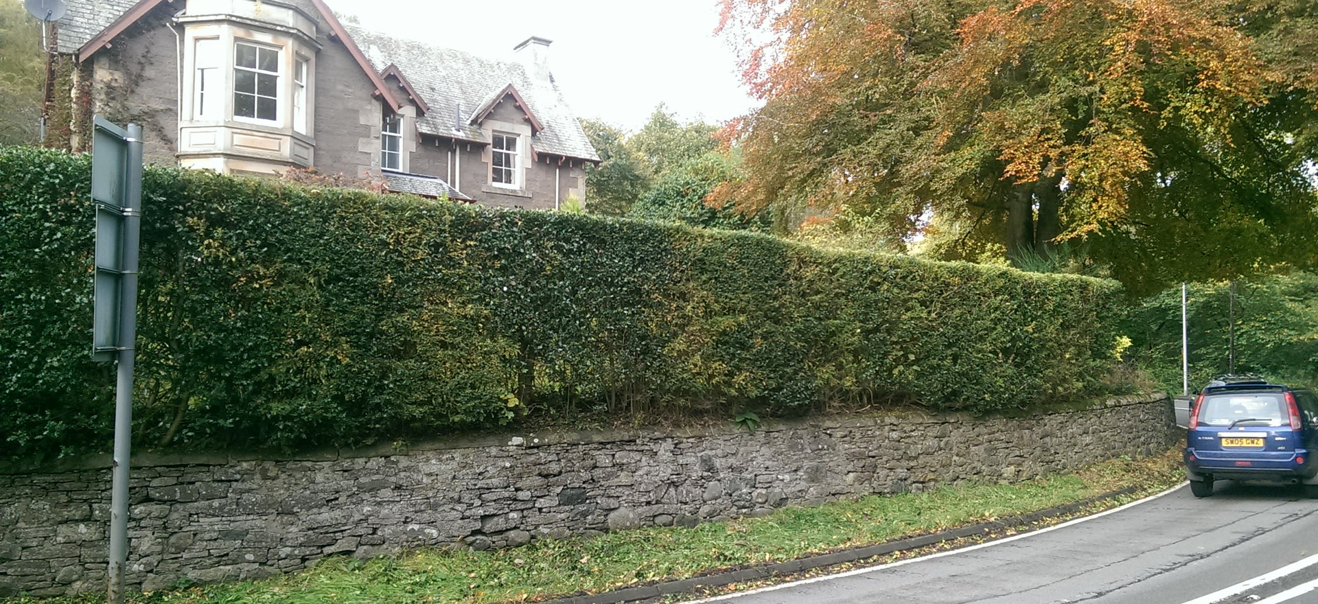 High mixed hedge