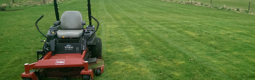 residential and commercial lawn mowing