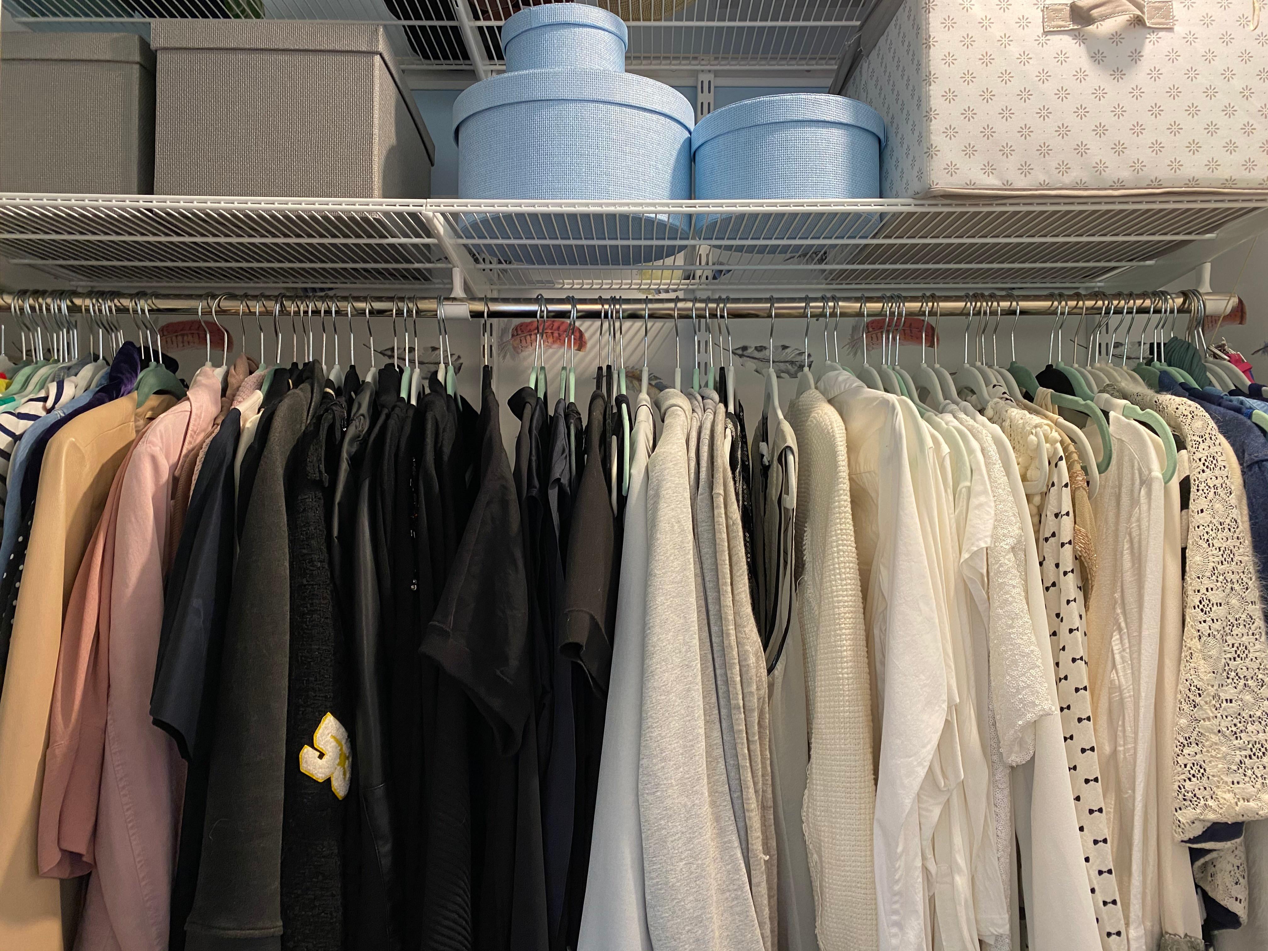 Closet remodel & organizing