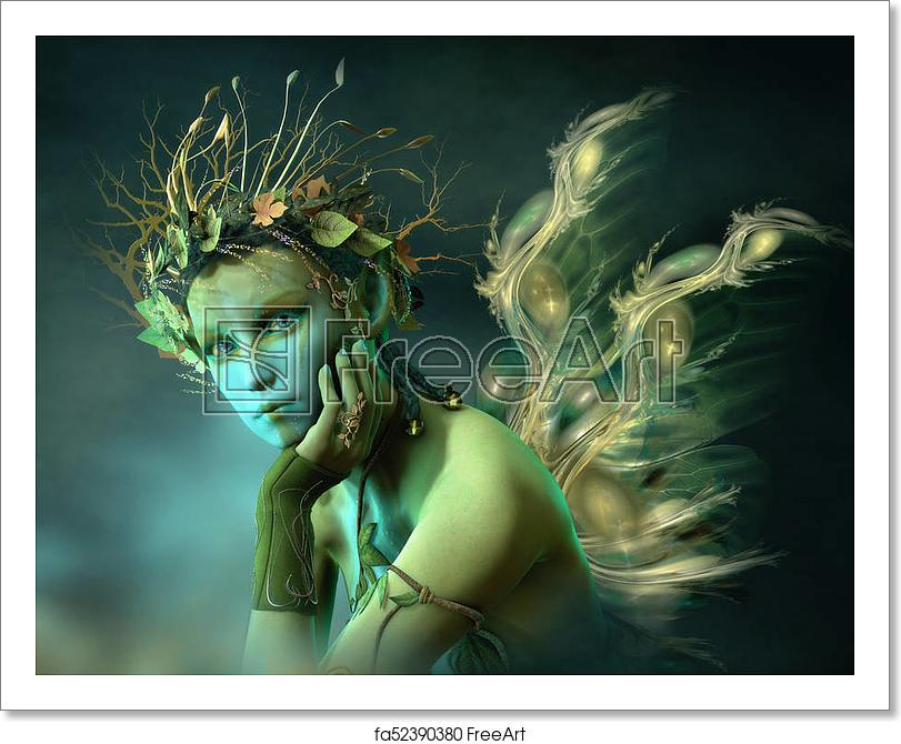 little-forest-sylph-3d-cg