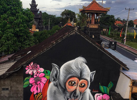10 Famous Street Art in Bali