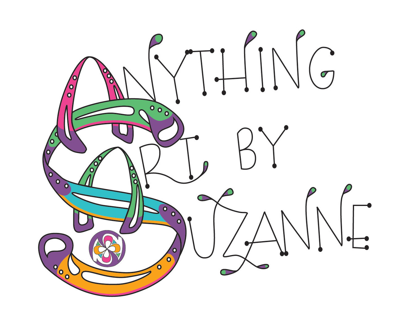 Anything Art By Suzanne- Logo