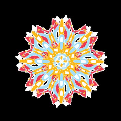 Tribal-no outline