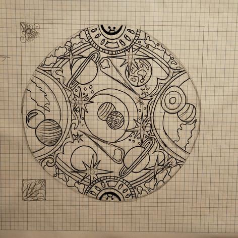 Original outlines-Space