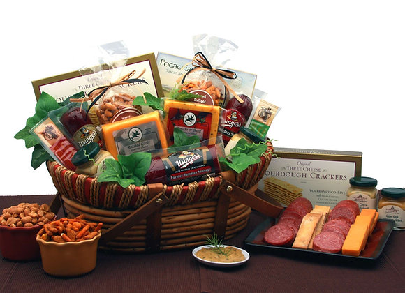 Meat, Cheese and Cracker Basket