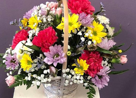 Basket O' Blooms