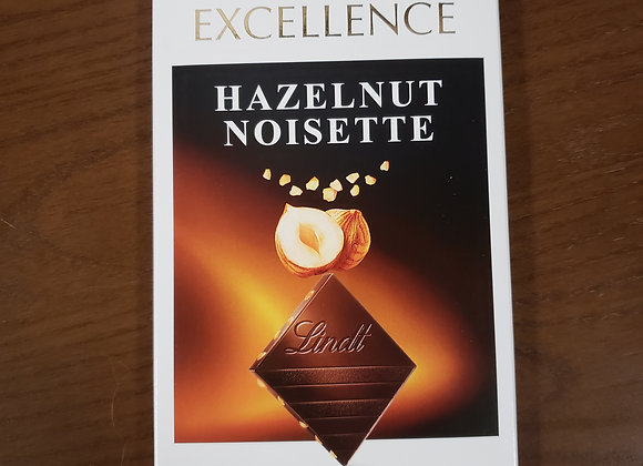 Lindt Hazelnut Chocolate Bar