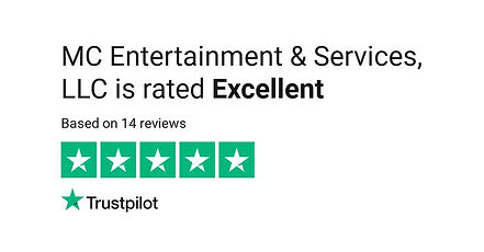 "Atlanta Entertainment Company, ""MC Entertainment & Services,"" 5 Star Reviews on TrustPilot.com"