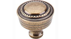 "Top Knobs - M200 - Contessa Knob 1 1/4"" - German Bronze - Tuscany Collection"