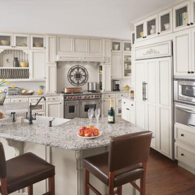 fieldstone cabinet maple white with choc
