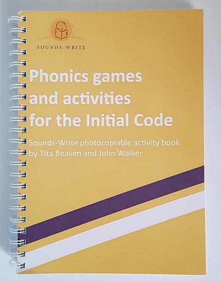 Sounds-Write Activity Workbook (Initial Code)
