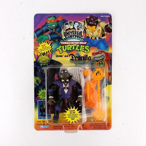 Don as Dracula - 1993 Teenage Mutant Ninja Turtles Action Figure - Playmates