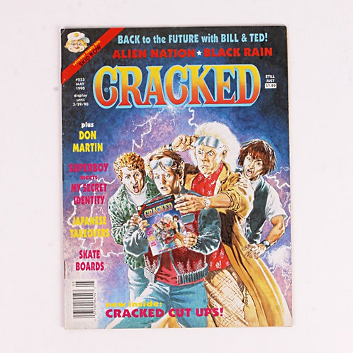 Cracked Magazine - Classic May 1990 # 253 - Back to the Future