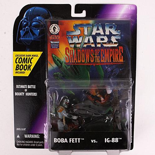 Boba Fett vs IG-88 - 1996 Star Wars Shadows of the Empire - Action Figure