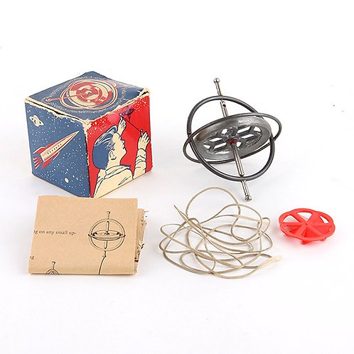The Hurst Gyroscope - Vintage 1960s Scientific Toy - Chandler Manufacturing Co.