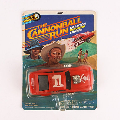 The Cannonball Run - Vintage 1981 Motorized Stocker - Tough Wheels - Kidco