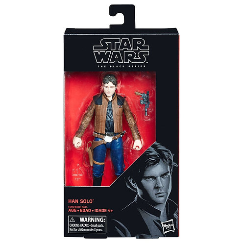 "Han Solo - Modern 2018 Star Wars 6"" Black Series #62 - Hasbro"
