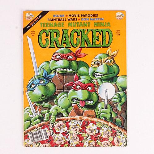 Cracked Magazine - Classic Aug 1990 # 255 - Teenage Mutant Ninja Turtles