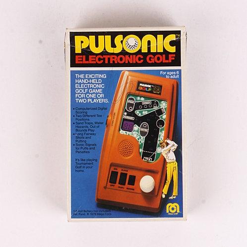 Pulsonic Golf - Vintage 1978 Electronic Handheld Sports Game - Mego