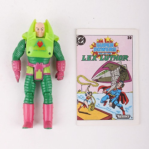 Lex Luthor - Vintage 1984 Super Powers DC Comics - Action Figure - Kenner