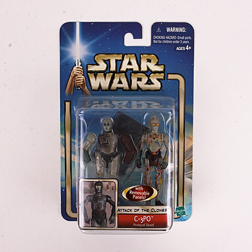 C-3PO - Modern 2002 Star Wars Attack of the Clones - Action Figure