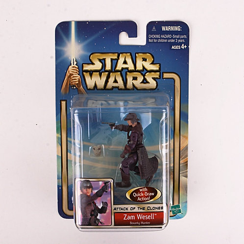 Sam Wesell - Modern 2001 Star Wars Attack of the Clones - Action Figure