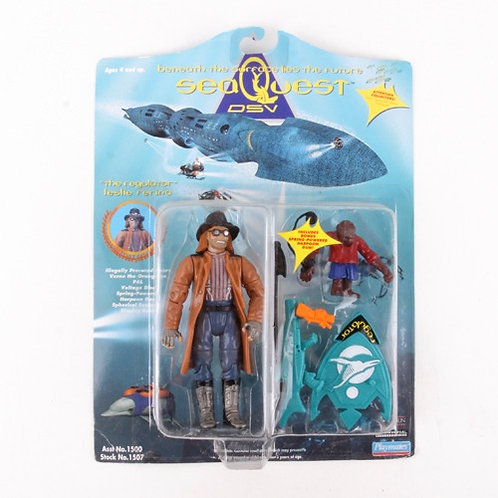 """The Regulator"" Leslie Ferina - Classic 1993 Sea Quest DSV - Playmates"