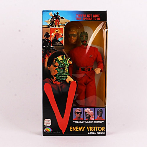 "Enemy Visitor - Vintage 1984 ""V"" TV Series - 12"" Action Figure - Ljn Toys"