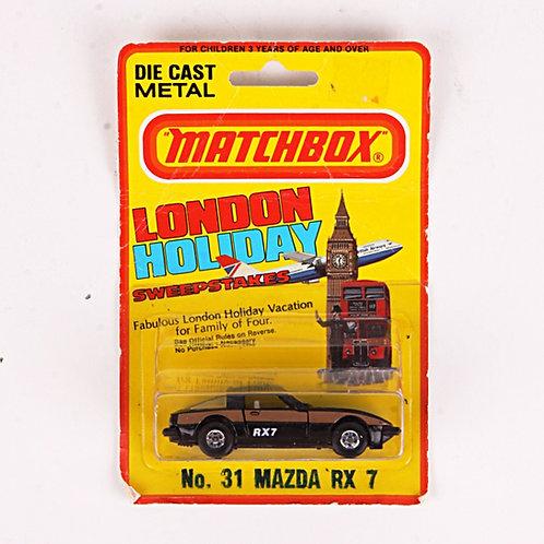 Mazda RX 7 #31 - Vintage 1981 Matchbox / Lesney Die Cast Vehicle