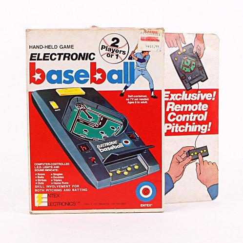 Baseball - Vintage 1979 Handheld Electronic Sports Game - Entex