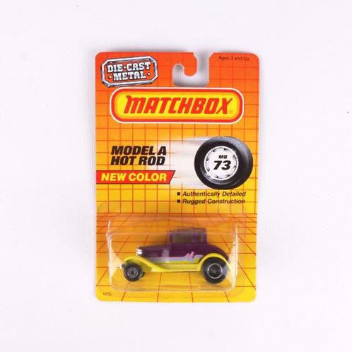 "Model ""A"" Hot Rod #73 - Vintage 1987 Matchbox - Die Cast Vehicle"