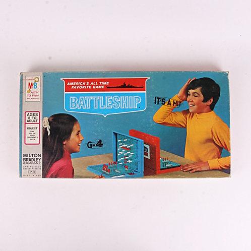 Battleship - Vintage 1971 Board Game - Milton Bradley