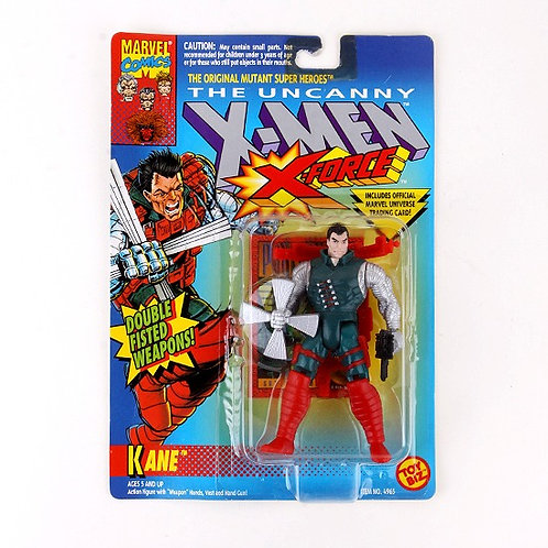Kane - Classic 1993 Marvel The Uncanny X-Men X-Force Action Figure - Toy Biz