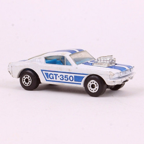 Mustang GT-350 #23 - Vintage 1970 Superfast Matchbox - Die Cast Vehicle