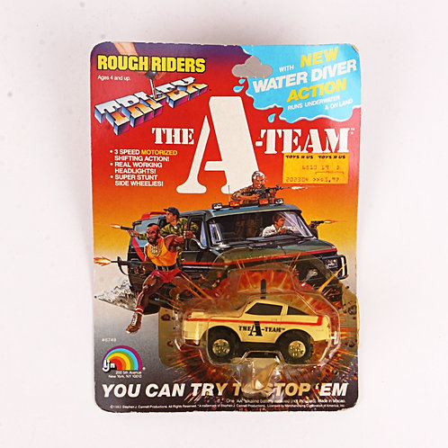 Face's Vette - Corvette - Vintage 1983 The A-Team Rough Riders Tri-Ex - Ljn Toys