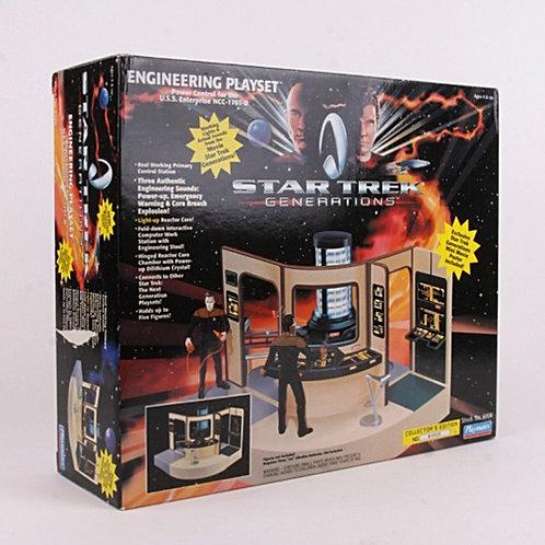 Engineering Playset - Classic 1994 Star Trek Generations - Playmates