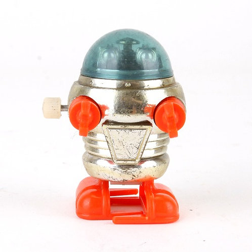 Rascal - Vintage 1978 Wind-Up Mechanical Walking Robot - Tomy