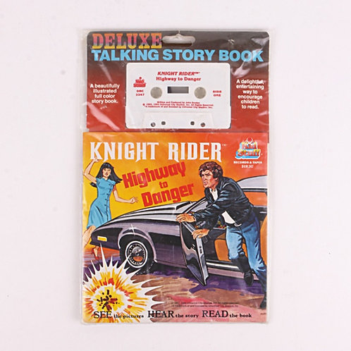 Knight Rider - Vintage 1982 Deluxe Tape & Story Book - Kid Stuff