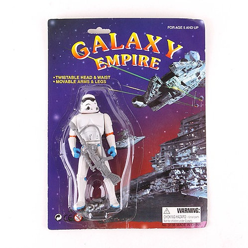Stormtropper - Classic 1997 Galaxy Empire Star Wars Bootleg - Action Figure