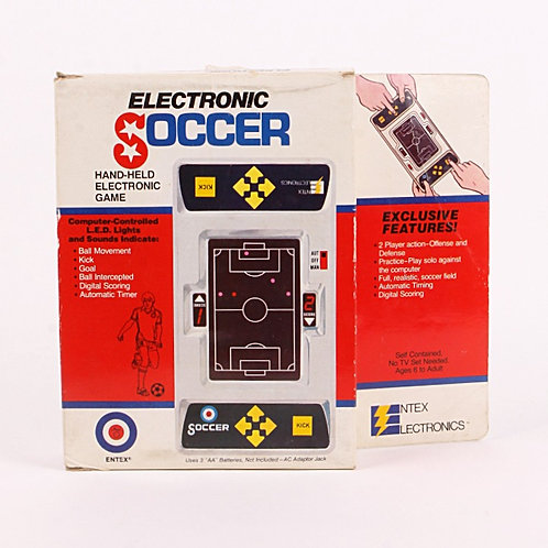 Soccer - Vintage 1979 Handheld Electronic Sports Game - Entex