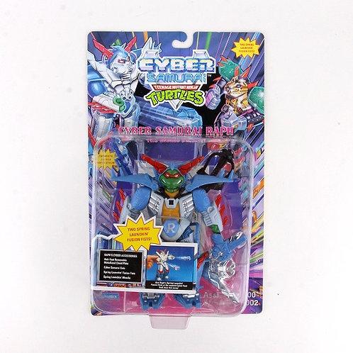 Cyber Samurai Raph - 1994 Teenage Mutant Ninja Turtles Action Figure - Playmates