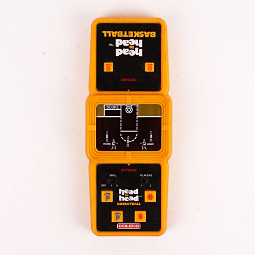 Head to Head Basketball - Vintage 1979 Electronic Tabletop Sports Game - Coleco