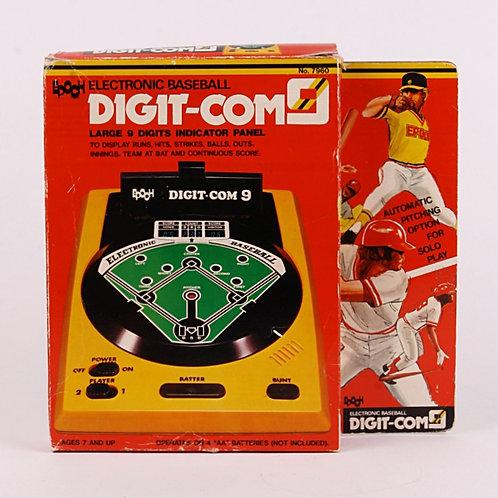 Baseball Digit-Com9 - Vintage 1979 Handheld Electronic Sports Game - Epoch