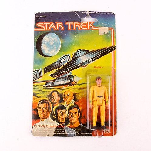 Decker - Vintage 1979 Star Trek  - Mego Action Figure