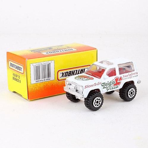 Bronco II #39 - Classic 1996 Die Cast Vehicle - Matchbox